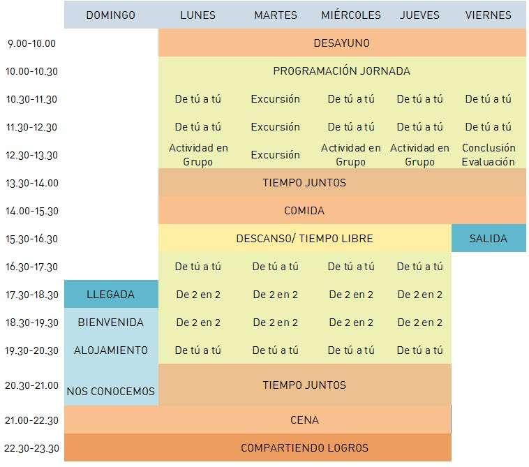 horario-Ayllon-inmersion-ingles